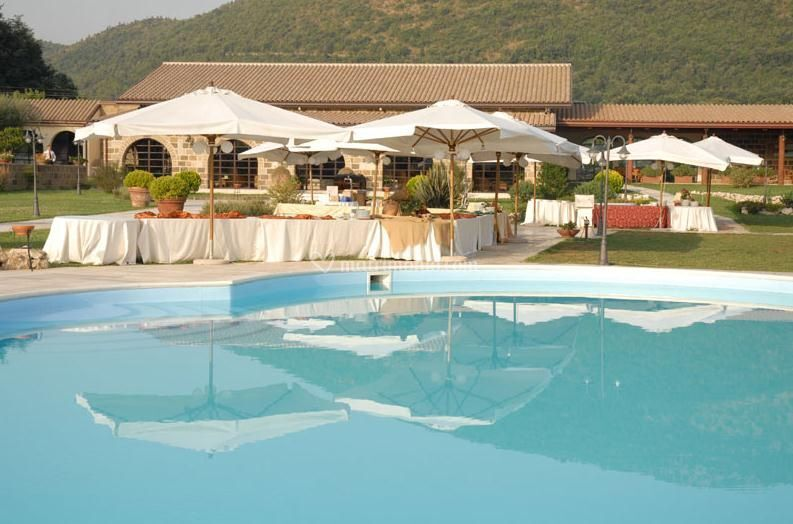 Buffet a bordo piscina