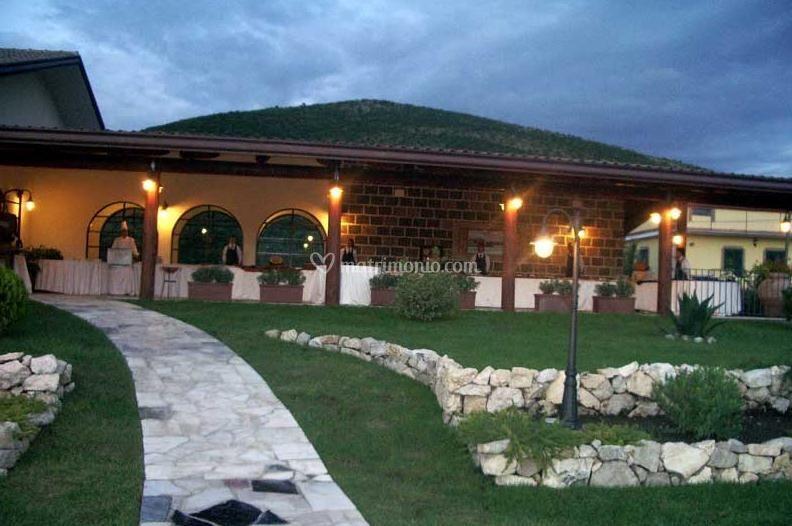 Esterno villa - Illuminazione