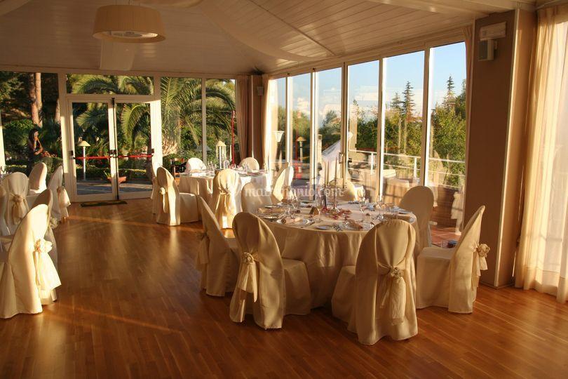 La sala Belvedere