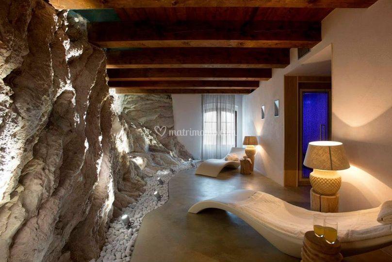 Sala bagno turco e sauna di castello di naro foto 28