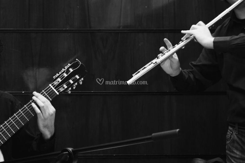 Chitarra e flauto cerimonia