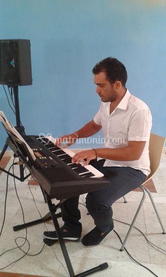 Matrimonio religioso, tastiera