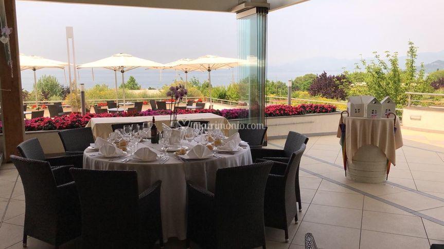 Terrazza coperta di Parc Hotel Germano | Foto 46