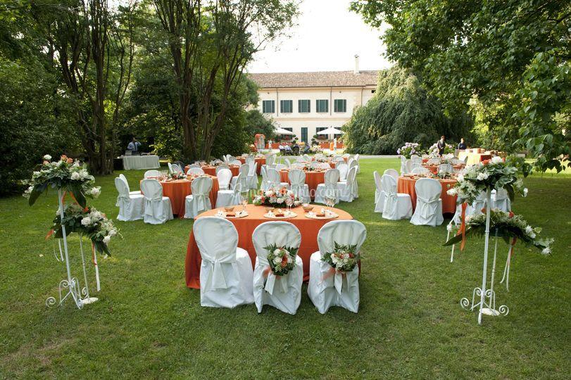 Cena giardino