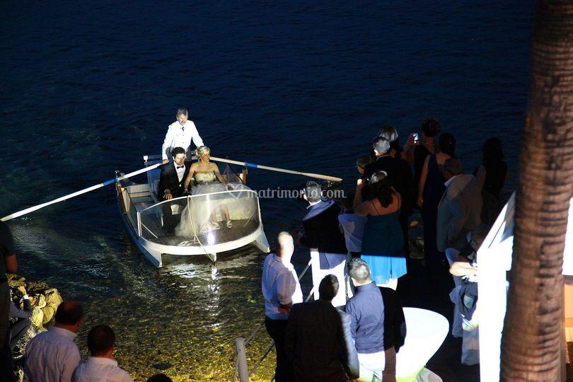 Gli sposi dal mare