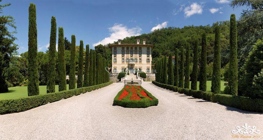 Villa Canton - L'ingresso