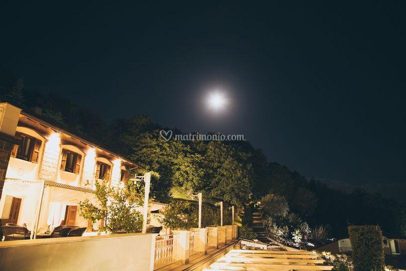 La Tenuta di sera