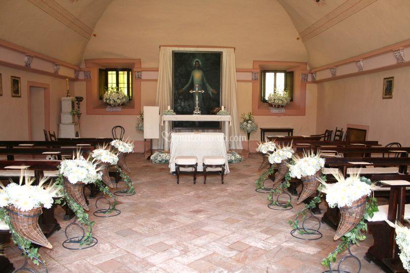 Chiesa Palazzo Barbò - navata
