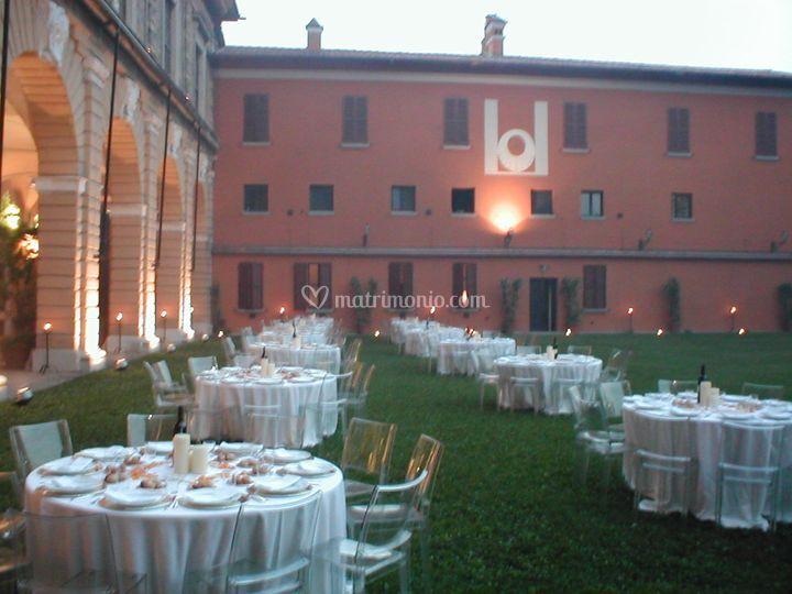 Corte esterna Palazzo Barbò