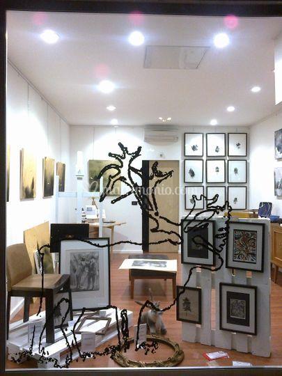 Vetrina galleria di arte contemporanea casa della renna foto - Arte della casa ...