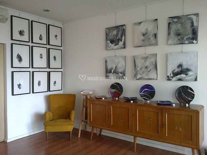 Interno galleria di arte contemporanea casa della renna - Arte della casa ...