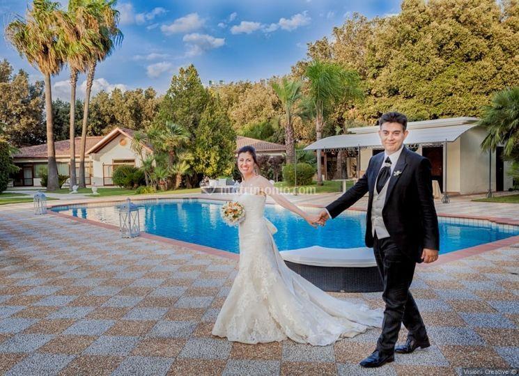 Gli sposi di Villa Demetra
