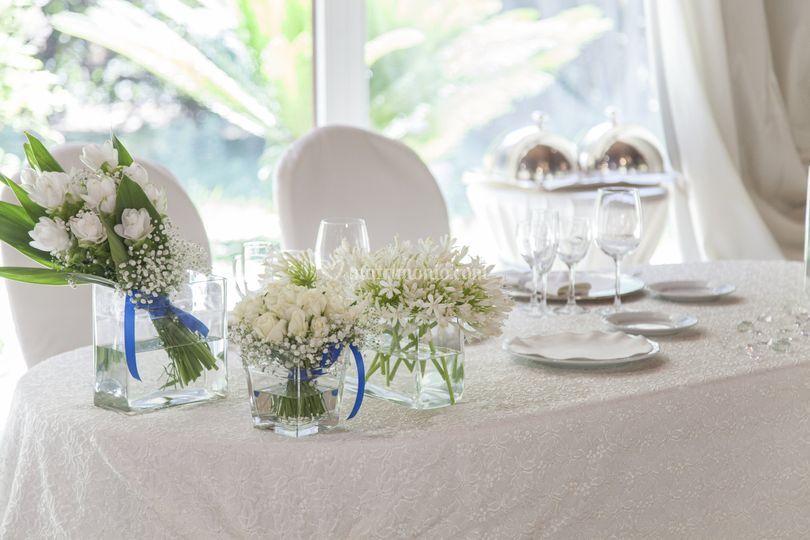 Tavolo sposi Sala Demetra