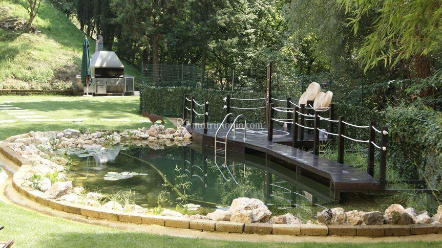 Platani resort for Bio piscina