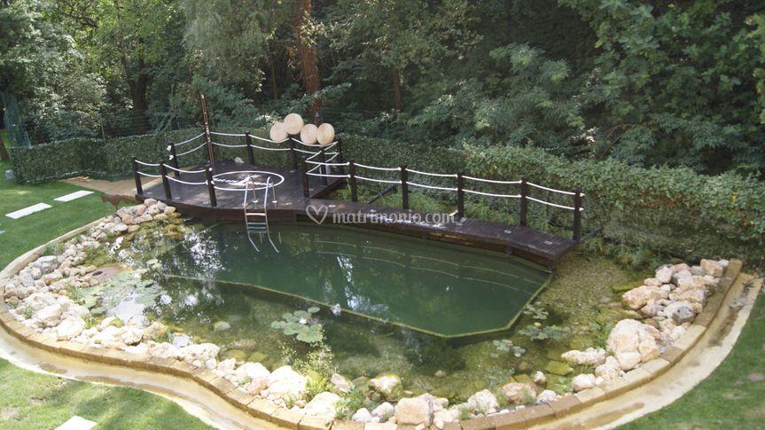 Il giardino e la bio piscina