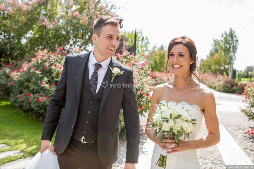 Gli sposi a corte