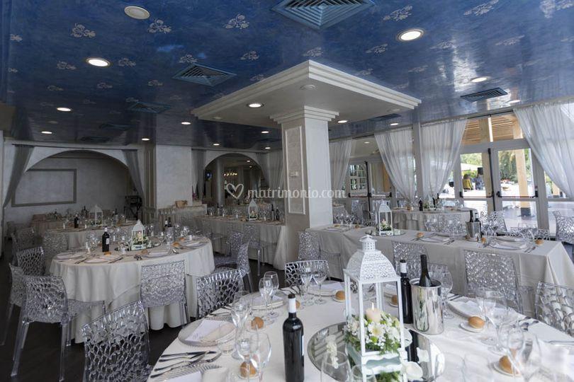 Allestimento Sala Tiffany Di Ristorante Pio Nono Foto 36