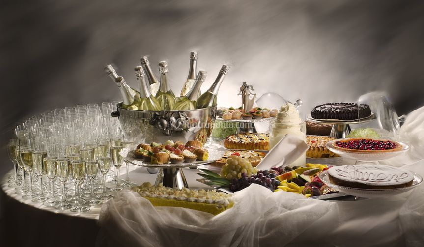 Buffet Di Dolci Matrimoni Di Ristorante Pio Nono Foto 131