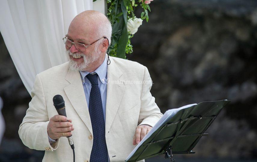 Richard Brown, celebrante