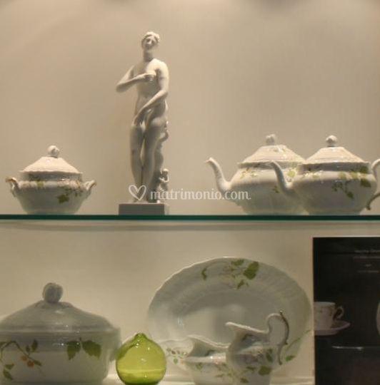 Oggetti in porcellana
