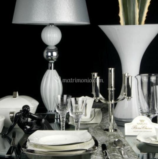 Set piatti e bicchieri