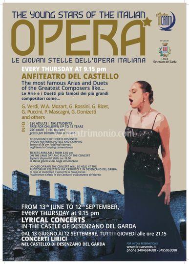 "Locandina ""Stagione d'Opera"""