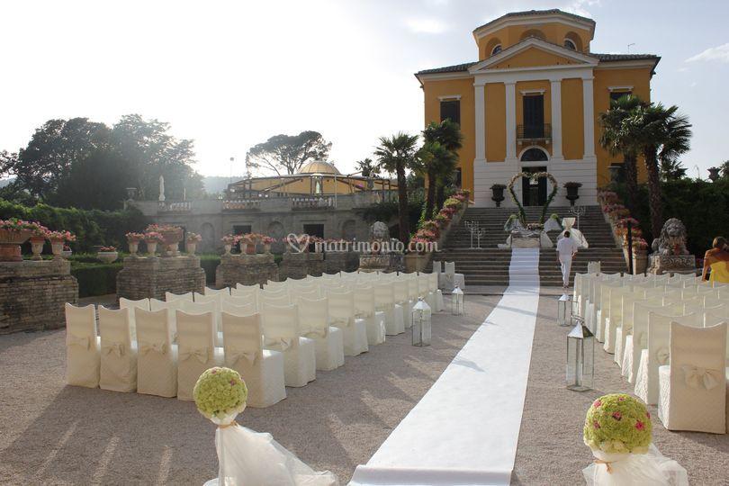 Villa Collio cerimonia