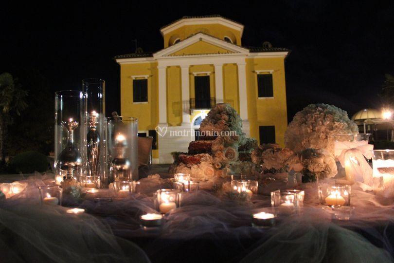 Villa Collio , torta nunziale