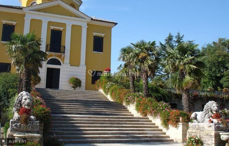 Entrata Villa Collio