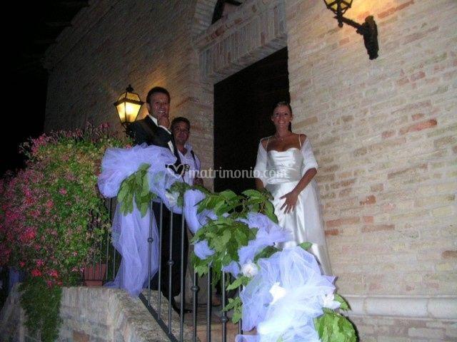 Villa San Nicolino: gli sposi