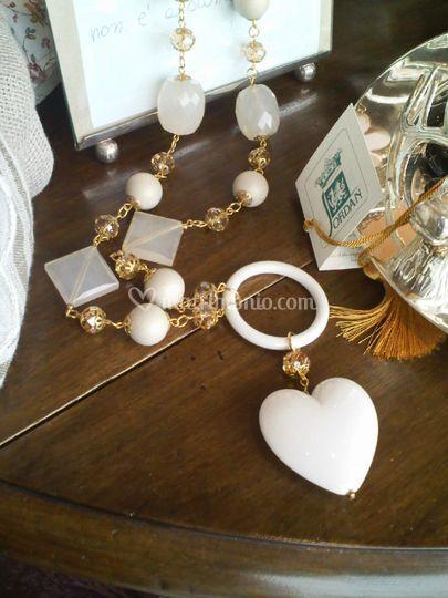 Collana cuore artigianale ELITE