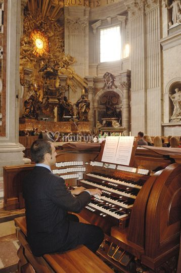 Organista NoteNuziali S Pietro