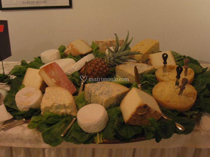 La selezione di formaggi
