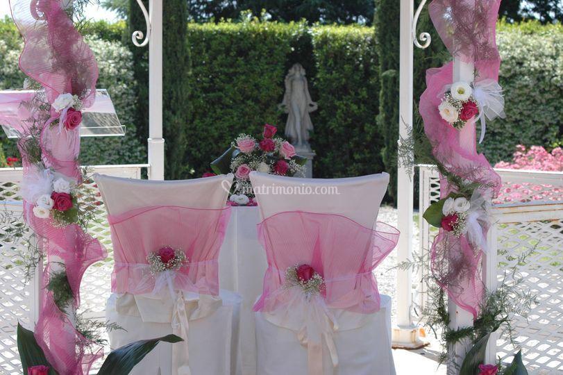 Cerimonia in rosa