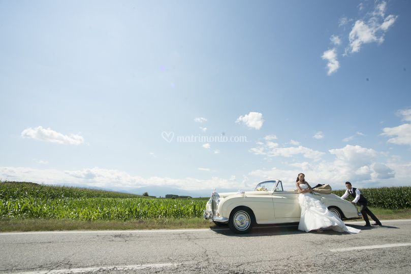 Rolls royce cabriolet