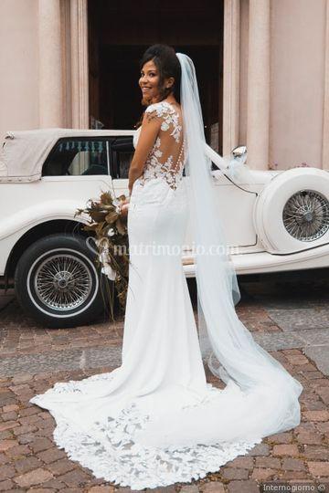 Sposa e auto
