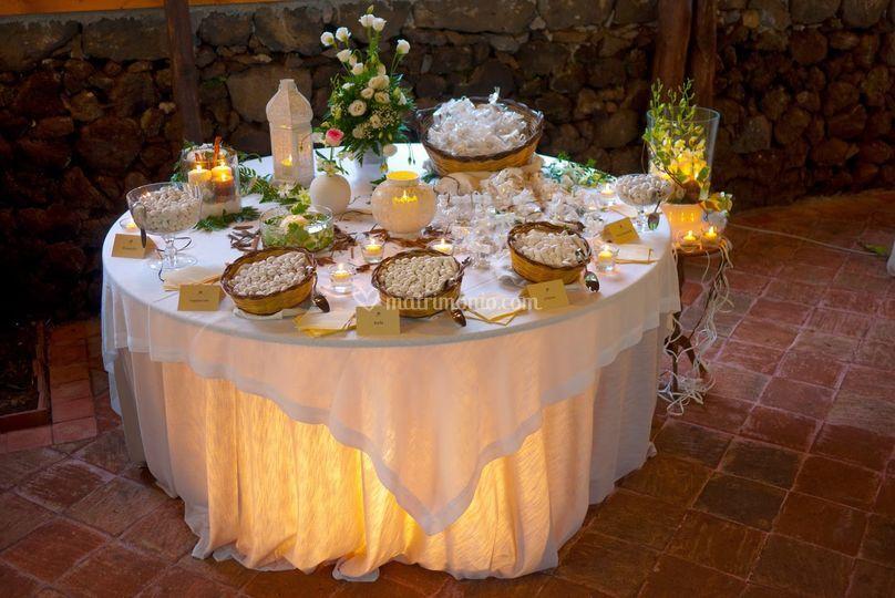 Confettata Matrimonio Rustico : Agriturismo case perrotta