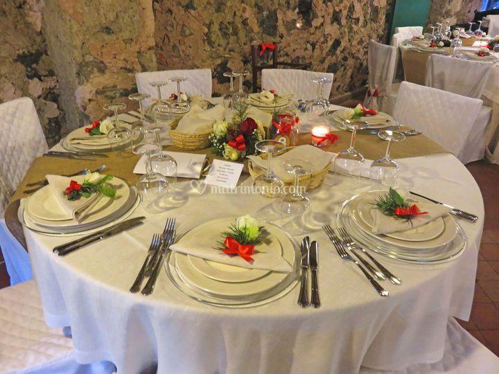 Agriturismo case perrotta for Tavolo natalizio