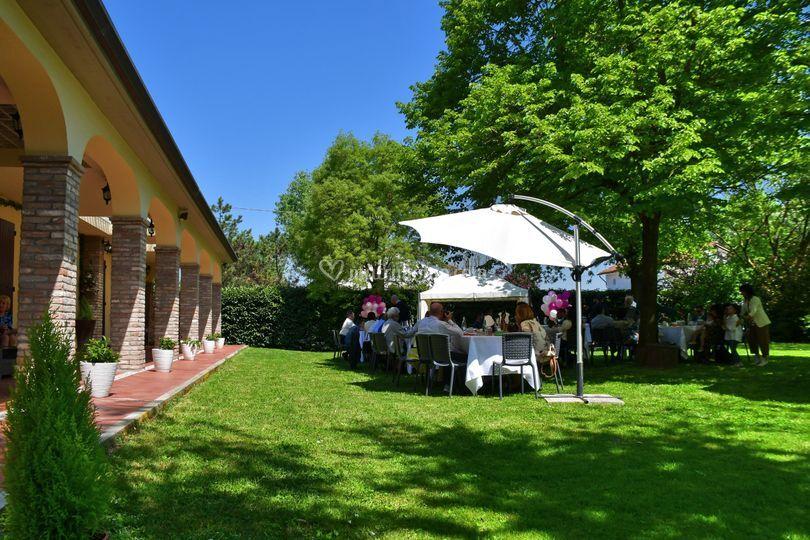 Giardino wedding day