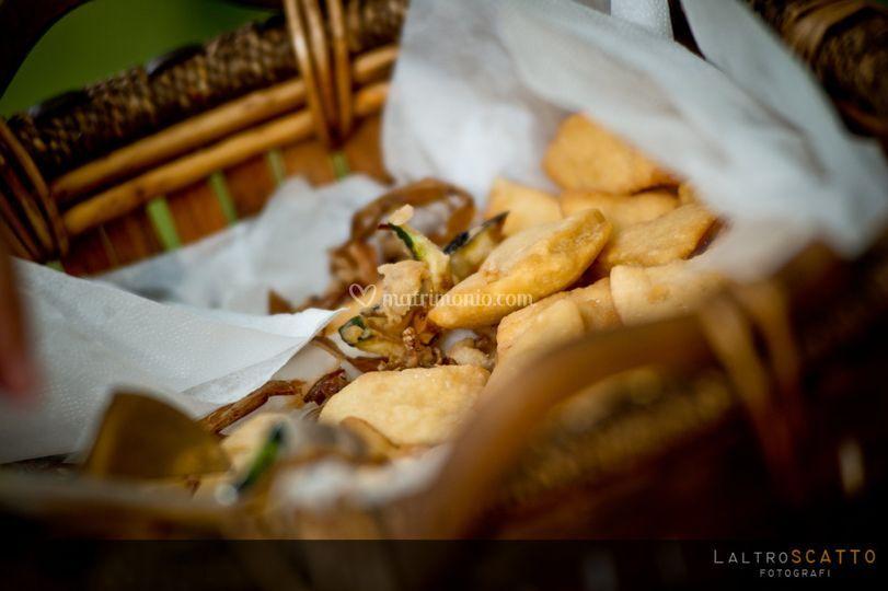 Verdurine in tempura