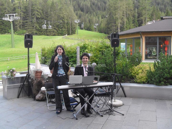 Serata musicale in montagna