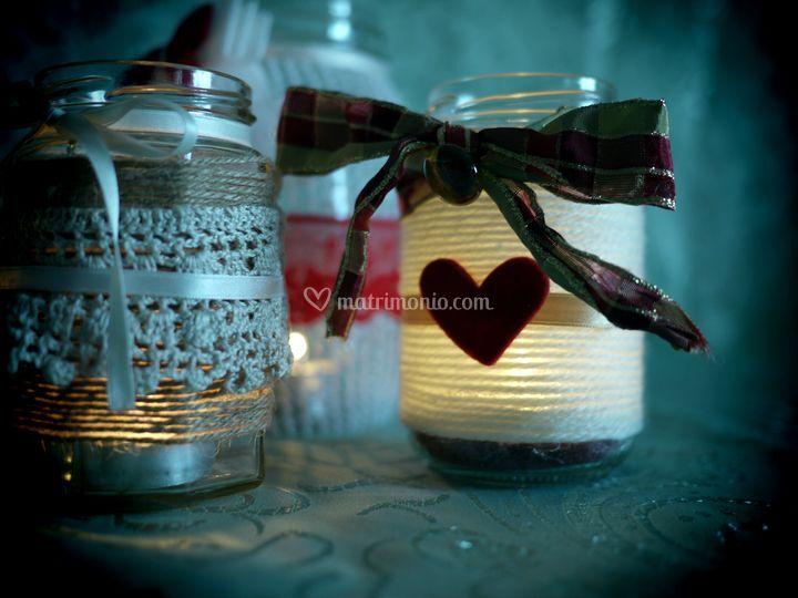 Bomboniere Vasetti per candele