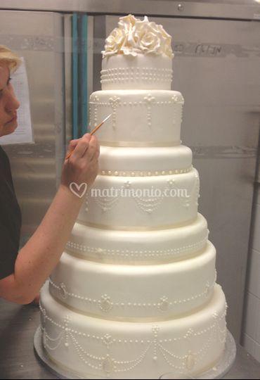 Cake designer @work