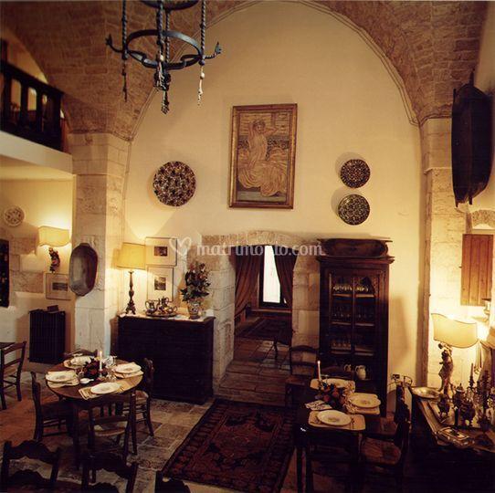 Masseria Cantone Ostuni: sala