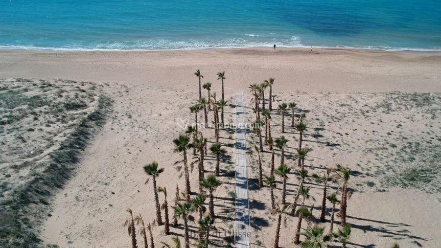 La nostra spiaggia privata