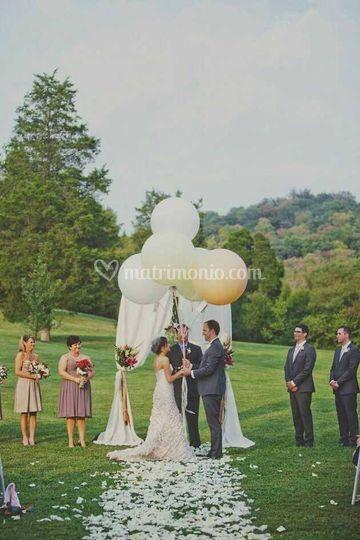 Allestimento sposi