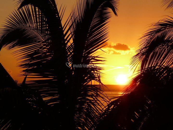 Tramonto Polinesia