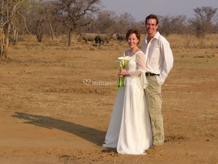 Wedding on safari