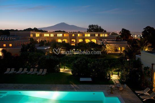 Matrimonio Romano Palace Catania : Romano palace