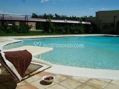 Romano Palace: piscina